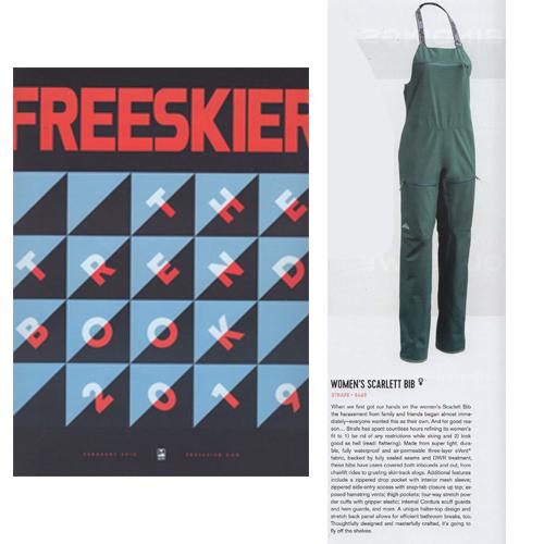 Freeskier | Strafe Scarlett Bib