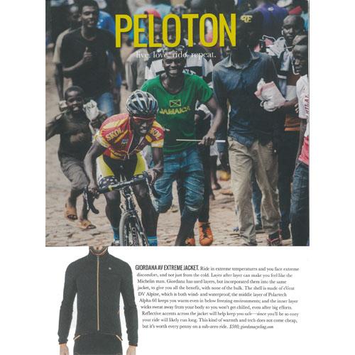 Peloton | Giordana AV Extreme Jacket